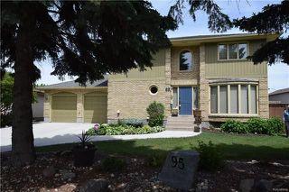 Photo 1: 95 Ambassador Row in Winnipeg: Parkway Village Residential for sale (4F)  : MLS®# 1812383