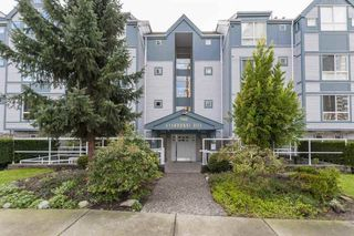 "Photo 1: 105 7465 SANDBORNE Avenue in Burnaby: South Slope Condo for sale in ""SANDBORNE HILL"" (Burnaby South)  : MLS®# R2336474"