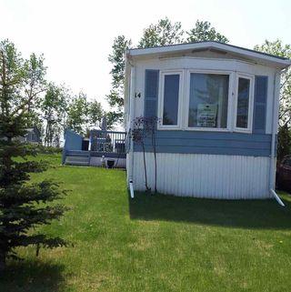 Main Photo: 14 Keyhole Crescent in Edmonton: Zone 42 Mobile for sale : MLS®# E4146569