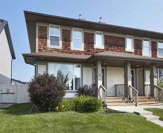 Photo 1: 5982 SOUTH TERWILLEGAR Boulevard in Edmonton: Zone 14 House Half Duplex for sale : MLS®# E4152093