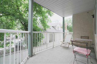 Photo 24: 203 9938 104 Street in Edmonton: Zone 12 Condo for sale : MLS®# E4163171