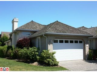"Photo 1: 1 31450 SPUR Avenue in Abbotsford: Abbotsford West Townhouse for sale in ""LAKEPOINTE VILLAS"" : MLS®# F1117277"