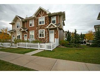 Photo 1: 786 TUSCANY Drive NW in CALGARY: Tuscany Townhouse for sale (Calgary)  : MLS®# C3587032