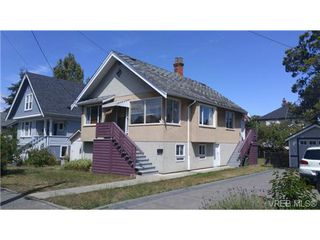 Photo 1: 2525 Vancouver Street in VICTORIA: Vi Central Park Single Family Detached for sale (Victoria)  : MLS®# 368354