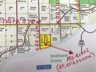 Main Photo: 56503 RR 212: Rural Sturgeon County Rural Land/Vacant Lot for sale : MLS®# E4063534