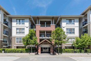 "Photo 1: E110 8929 202 Street in Langley: Walnut Grove Condo for sale in ""THE GROVE"" : MLS®# R2170091"