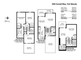 "Photo 20: 228 CORNELL Way in Port Moody: College Park PM Townhouse for sale in ""EASTHILL"" : MLS®# R2306931"