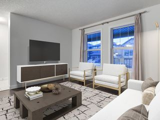 Photo 4: 49 LEGACY Mews SE in Calgary: Legacy Semi Detached for sale : MLS®# C4225776
