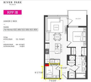 Photo 2: 610 5400 HOLLYBRIDGE Way in Richmond: Brighouse Condo for sale : MLS®# R2371318