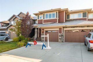Photo 1: 8805 221 Street in Edmonton: Zone 58 House Half Duplex for sale : MLS®# E4176031