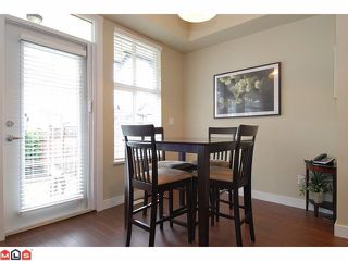 "Photo 5: 21 18199 70TH Avenue in Surrey: Cloverdale BC Townhouse for sale in ""AUGUSTA"" (Cloverdale)  : MLS®# F1105716"