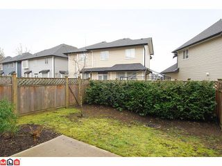 "Photo 10: 21 18199 70TH Avenue in Surrey: Cloverdale BC Townhouse for sale in ""AUGUSTA"" (Cloverdale)  : MLS®# F1105716"
