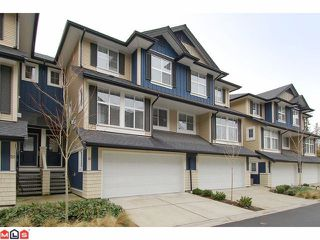 "Photo 1: 21 18199 70TH Avenue in Surrey: Cloverdale BC Townhouse for sale in ""AUGUSTA"" (Cloverdale)  : MLS®# F1105716"