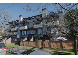Photo 1: 2310 VINE Street in Vancouver: Kitsilano Townhouse for sale (Vancouver West)  : MLS®# V1045523