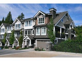 "Photo 1: 118 1480 SOUTHVIEW Street in Coquitlam: Burke Mountain Townhouse for sale in ""CEDAR CREEK NORTH"" : MLS®# V1118464"