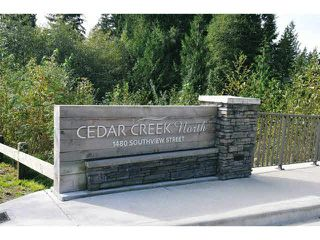 "Photo 3: 118 1480 SOUTHVIEW Street in Coquitlam: Burke Mountain Townhouse for sale in ""CEDAR CREEK NORTH"" : MLS®# V1118464"