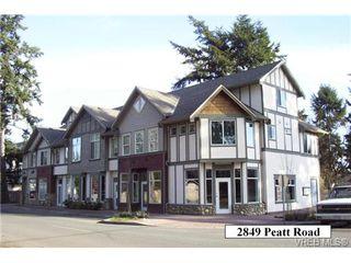 Photo 1: 101 2849 Peatt Rd in VICTORIA: La Langford Proper Office for sale (Langford)  : MLS®# 723362
