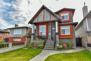 Photo 1: 8160 18TH AVENUE - LISTED BY SUTTON CENTRE REALTY in Burnaby: East Burnaby House for sale (Burnaby East)  : MLS®# R2065566