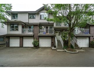 Photo 1: 61 2450 LOBB Avenue in Port Coquitlam: Mary Hill Townhouse for sale : MLS®# R2072042