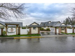 "Photo 1: 24 19649 53 Avenue in Langley: Langley City Townhouse for sale in ""Huntsfield Green"" : MLS®# R2155558"