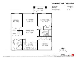 """Photo 20: 307 545 FOSTER Avenue in Coquitlam: Coquitlam West Condo for sale in """"FOSTER WEST"""" : MLS®# R2158567"""