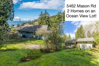 "Photo 1: 5462 MASON Road in Sechelt: Sechelt District House for sale in ""WEST SECHELT"" (Sunshine Coast)  : MLS®# R2174374"