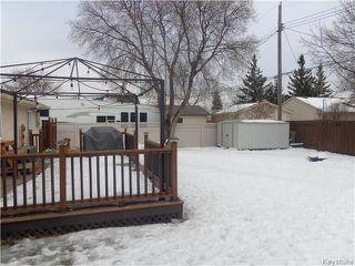 Photo 16: 66 Braintree Crescent in Winnipeg: Jameswood Residential for sale (5F)  : MLS®# 1806262