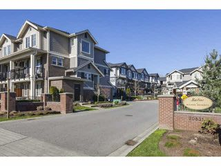 Main Photo: 21 20831 70 Avenue in Langley: Willoughby Heights Townhouse for sale : MLS®# R2345791