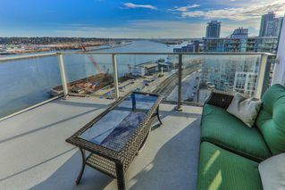 """Photo 17: 1911 668 COLUMBIA Street in New Westminster: Quay Condo for sale in """"TRAPP & HOLBROOK"""" : MLS®# R2348799"""