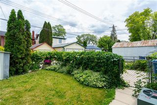 Photo 19: 155 Garfield Street in Winnipeg: Wolseley Residential for sale (5B)  : MLS®# 1917226