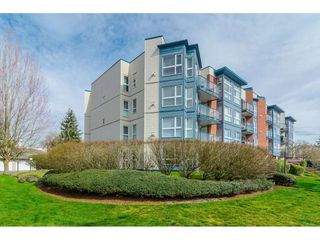 """Photo 3: 407 20277 53RD Avenue in Langley: Langley City Condo for sale in """"THE METRO II"""" : MLS®# R2466451"""