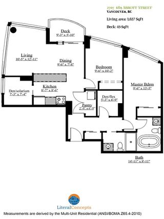 Photo 38: 2707 689 ABBOTT STREET in Vancouver: Downtown VW Condo for sale (Vancouver West)  : MLS®# R2519948