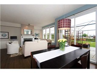 """Photo 6: 4 19452 FRASER Way in Pitt Meadows: South Meadows Townhouse for sale in """"SHORELINE"""" : MLS®# V881557"""