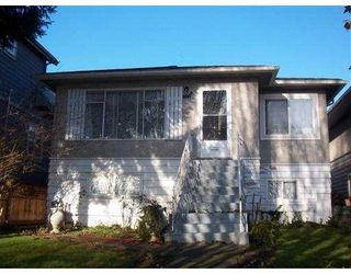 Photo 1: 123 E 64 Avenue in Vancouver: South Vancouver House for sale (Vancouver East)  : MLS®# V744425