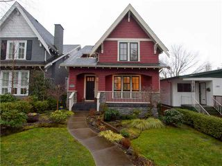 Photo 1: 4058 W 20TH AV in Vancouver: Dunbar House for sale (Vancouver West)  : MLS®# V941003