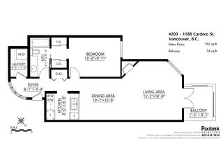"""Photo 17: 203 1188 CARDERO Street in Vancouver: West End VW Condo for sale in """"The Hampstead"""" (Vancouver West)  : MLS®# V1100116"""
