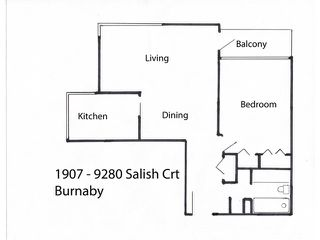 "Photo 9: 1907 9280 SALISH Court in Burnaby: Sullivan Heights Condo for sale in ""EDGEWOOD PLACE"" (Burnaby North)  : MLS®# V1128708"