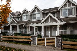 "Photo 1: 27 6555 192A Avenue in Surrey: Clayton Townhouse for sale in ""Carlisle"" (Cloverdale)  : MLS®# R2121708"