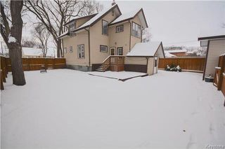 Photo 20: Kimberly Avenue in Winnipeg: Fraser's Grove Residential for sale (3C)  : MLS®# 1728821