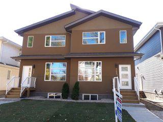 Photo 1: 11427 80 Avenue in Edmonton: Zone 15 House Half Duplex for sale : MLS®# E4116000
