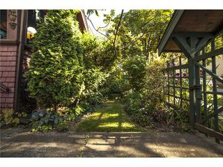 Photo 2: 2524 ALBERTA ST in Vancouver: Mount Pleasant VW House for sale (Vancouver West)  : MLS®# V1018034