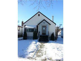Main Photo: 1310 Downing Street in WINNIPEG: West End / Wolseley Residential for sale (West Winnipeg)  : MLS®# 1325342