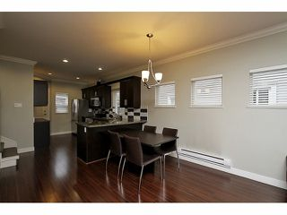 "Photo 4: 5 22788 WESTMINSTER Highway in Richmond: Hamilton RI Townhouse for sale in ""HAMILTON STATION"" : MLS®# V1053616"