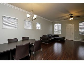 "Photo 5: 5 22788 WESTMINSTER Highway in Richmond: Hamilton RI Townhouse for sale in ""HAMILTON STATION"" : MLS®# V1053616"
