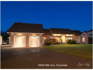 """Photo 20: 18039 68TH Avenue in Surrey: Cloverdale BC House for sale in """"NORTH CLOVERDALE WEST"""" (Cloverdale)  : MLS®# F1412711"""