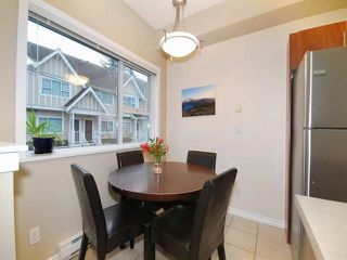 "Photo 5: 37 730 FARROW Street in Coquitlam: Coquitlam West Townhouse for sale in ""FARROW RIDGE"" : MLS®# R2131890"