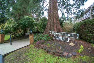 "Photo 1: 210 1385 DRAYCOTT Road in North Vancouver: Lynn Valley Condo for sale in ""Brookwood North"" : MLS®# R2147746"