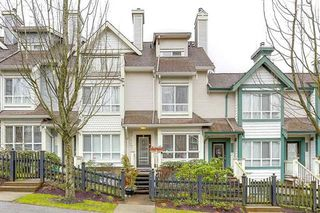 "Photo 1: 7478 HAWTHORNE Terrace in Burnaby: Highgate Townhouse for sale in ""ROCKHILL"" (Burnaby South)  : MLS®# R2148491"