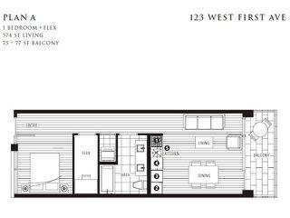 Photo 12: 305 123 W 1ST Avenue in Vancouver: False Creek Condo for sale (Vancouver West)  : MLS®# R2193386