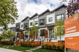 "Photo 1: 2765 DUKE Street in Vancouver: Collingwood VE Townhouse for sale in ""DUKE"" (Vancouver East)  : MLS®# R2207904"